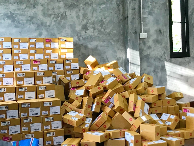 ขนส่งจากจีน
